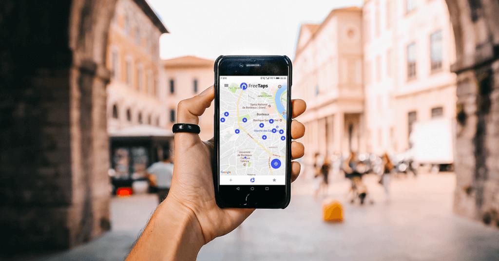 L'application mobile qui référence tous les points d'eau potable