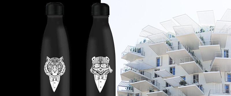 bouteille isotherme en acier inoxydable